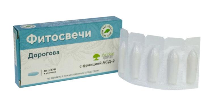 Свечи Дорогова АСД-2 Материа Био Профи Центр ООО